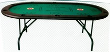 Hot Texas Holdem Casino Poker Table Dimension 84x42x30cm