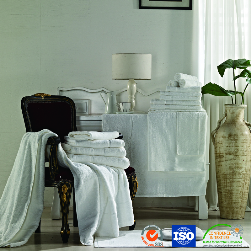 Best Price Fastness To Soaping White Towel For Hotel