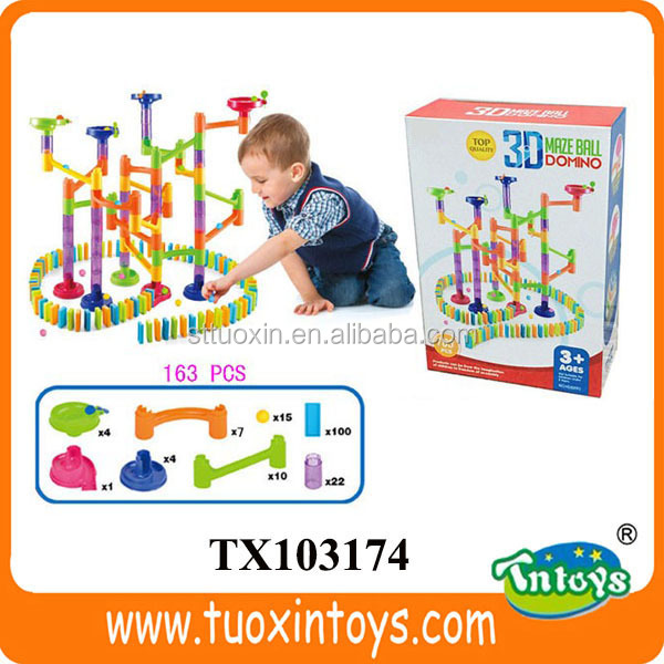 wholesale mini dominos colored (163 pcs)