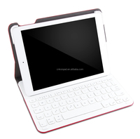 Ultrathin Keyboard Folio for iPad Air 2,bluetooth keyboard leather case for ipad air 2
