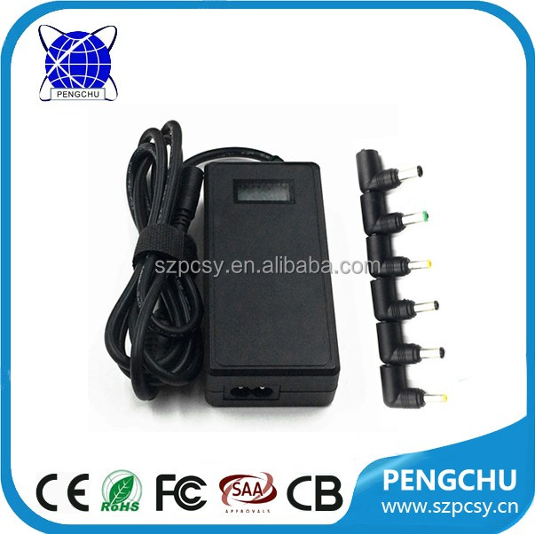 90Watt desktop ac dc adapter 220V to 12V 15V 18V 20V 24V for laptop