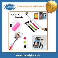 Z07-5 blutooth wireless monopod selfie stick for nokia lumia 1020