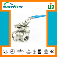 Taiwan Direct Mounting Pad inflatable boat valve, 3-way motorized valve, valve plate