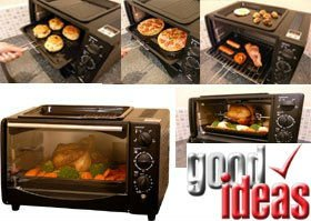 MULTI FUNCTION 20L OVEN (852) IDEAL FOR CAMPING AND CARAVANNING.