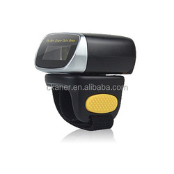 CKANER Mini barcode scanner finger ring type bar code scanner