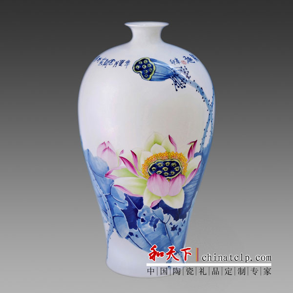 Modern style glazed high quality ming dynasty antique china vase for art collect