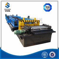 highway road barrier road guardrail bumps rolling punching cutting machine in china