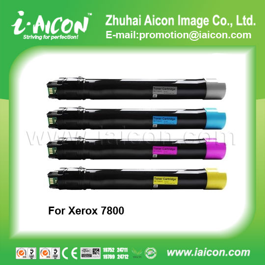 For xerox phaser 7800 7800DN 7800DX 7800GX color toner cartridge