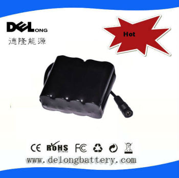 7.4V 8.8Ah LiMN2O4 Li-Ion Battery Pack for camera