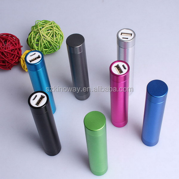 2014 Fashion Power Bank 2600mA Domestic and Oversea Brand Battery for Choose