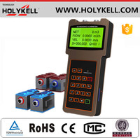 2015 New Arrival High Quality DN20 sensors Handheld ultrasonic flow meter