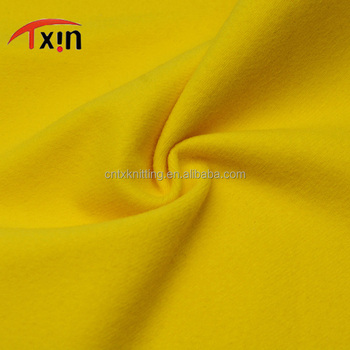 factory direct and keep warm brushed one plain fabric, high quality sportswear fabric