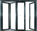 Double glazing bi-fold door