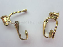 factory wholesale french clip earings no hole for jewelry