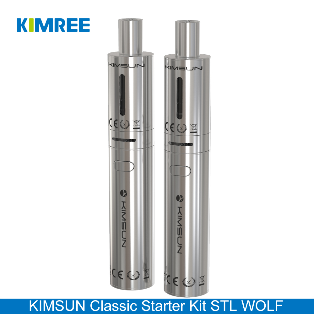 KIMREE/KIMSUN STL WOLF 2.0ml Atomizer 1100mAh Battery Wholesale Vape Pen Starter Kit with Big Vapor