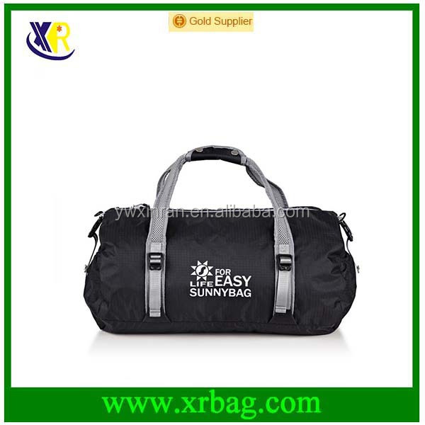 promotional OEM fashion foldable sport gym gift travel bags