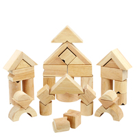 "Wooden Educational Toys ""V"" Balance Building Blocks Environmental Protection Value wooden toy doll house wooden toy components"