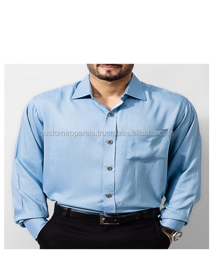 light green cheap latest designs cotton shirt for men