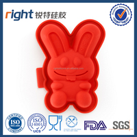 Rabbit Easter egg Silicone mold chocolate molds cake DIY mould