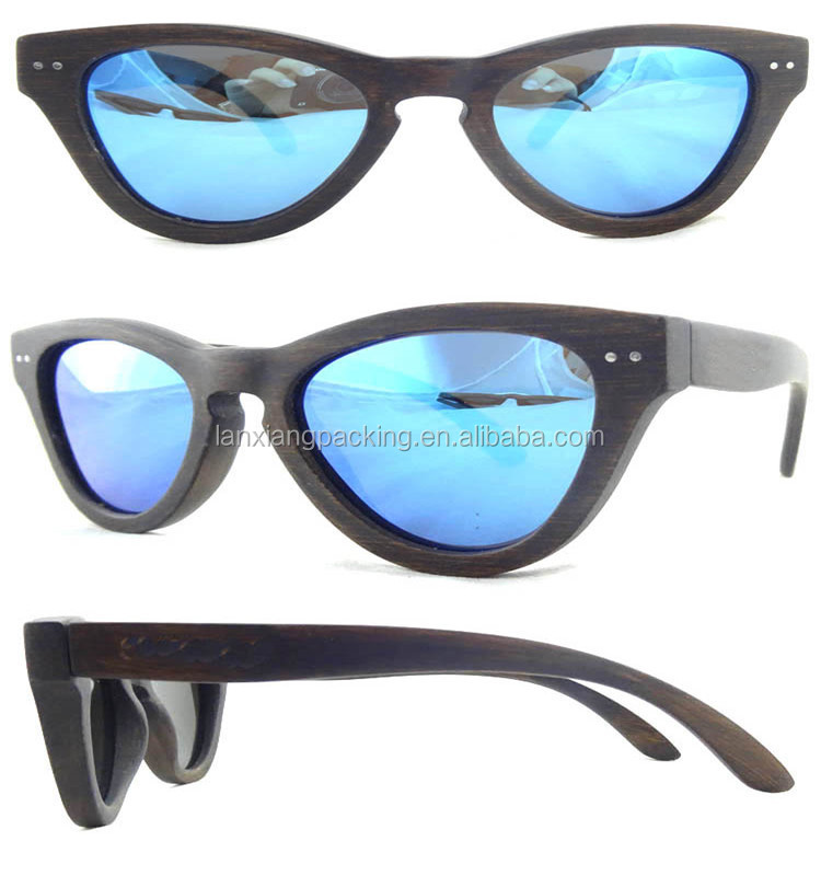 Fashionable Bamboo Sunglasses Wooden Eyeglasses