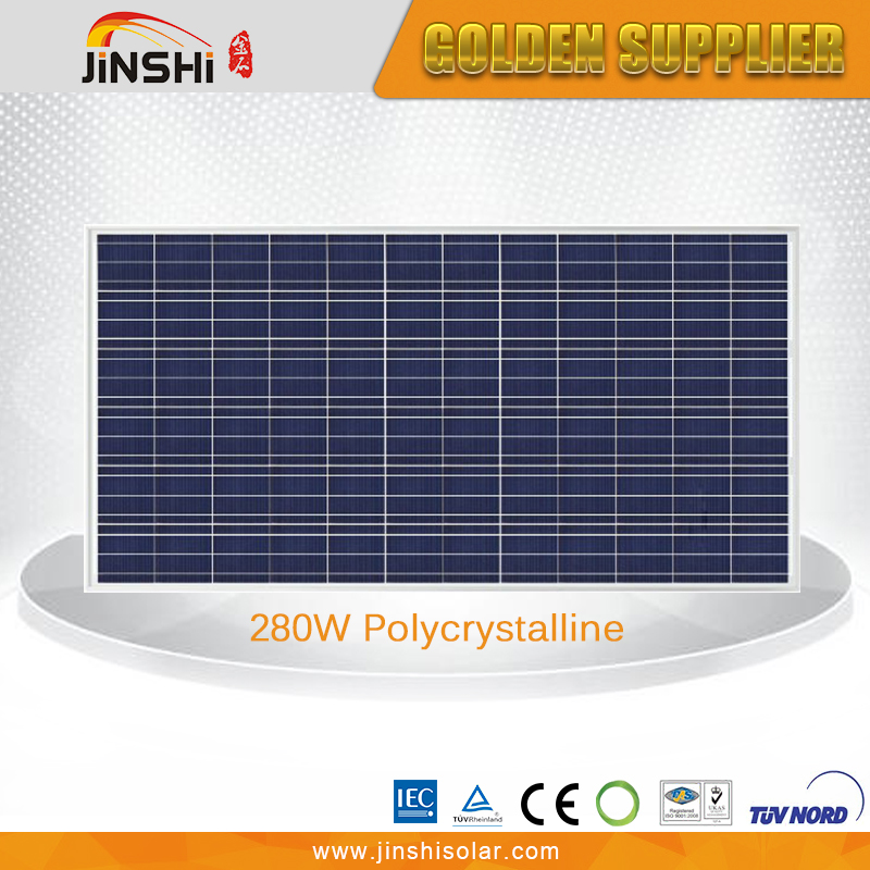 High Efficiency Poly-crystalline Silicon Solar Panel 280Wp
