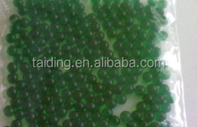 Lake Green Round Shape Solid Ball Crystal Soil