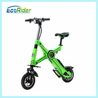 lithium battery powered ebike city mini folding cheap electric bicycle kit