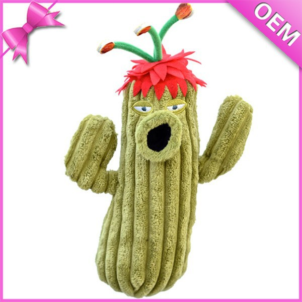Wholesale Good Plush Fabric Stuffed Plush Plant Toy Cactus Plush Toy