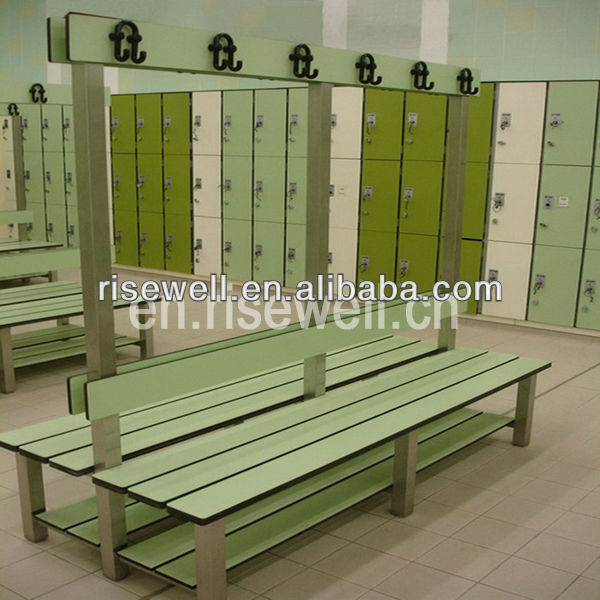 Compact laminate steel frames locker cabinet