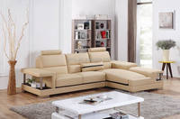 small french leder sofa modern