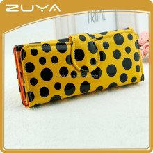 3 Folding lady spot women long wallet colorful candy bag ladies fancy wallet ladies leopard wallets