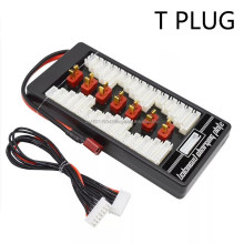 T plug Safe Parallel Charging Board 40A ParaBoard with 4 Packs JST-XH (2-6S) for RC Lipo Charger