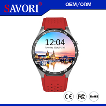 2017 New Android 5.1 GPS Smart Watch KW88 512M ROM 4G RAM Smartwatch Support 3G WIFI Google