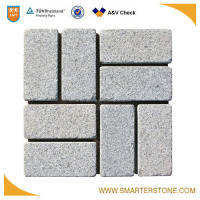High quality granite Rectangle mesh paver