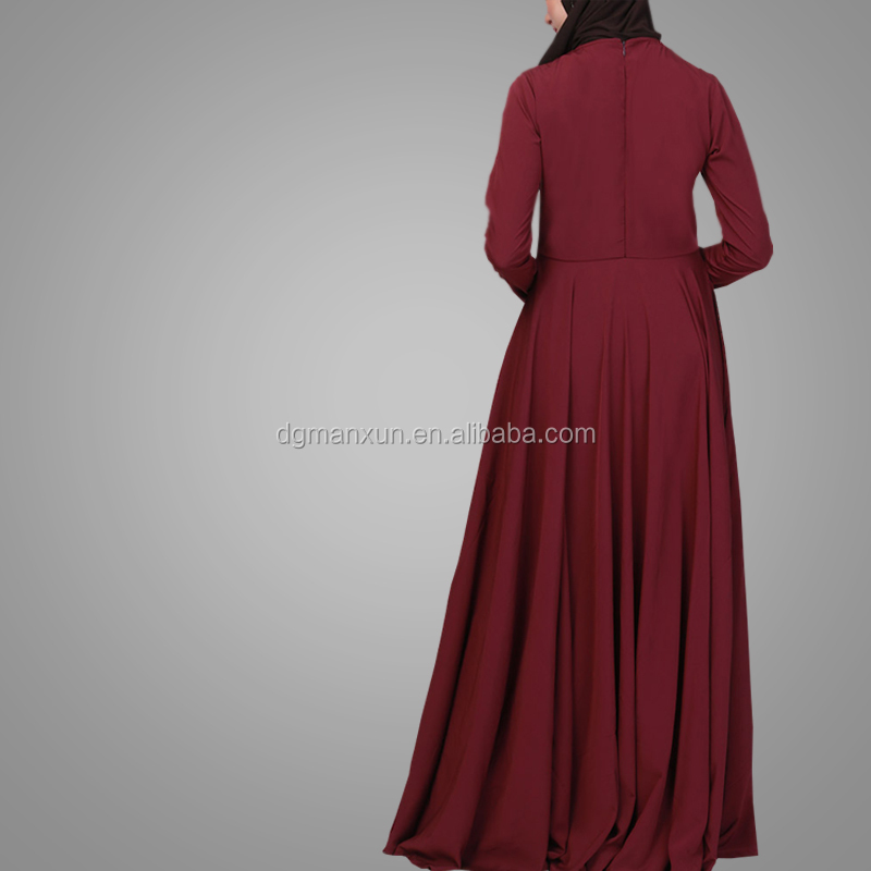 Latest Burqa Besigns Pictures High Quality Cheap Muslim Casual Abaya 2018 Fashion Pakistani Designer Dresses