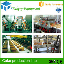 High efficiency and professional Automatic Industrial French Bread Cake Production Line with cake dough mixer CE certification