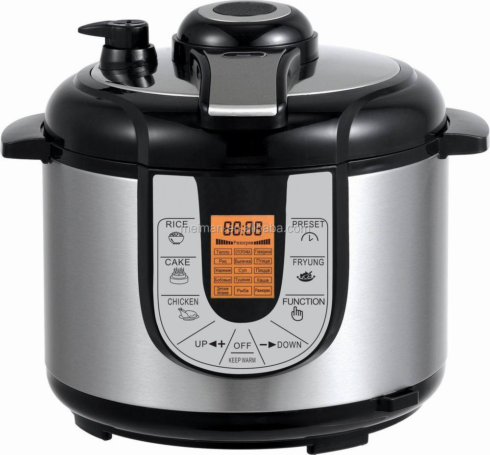 LCD display electric pressure cooker for wholesaler from GAP CR-22