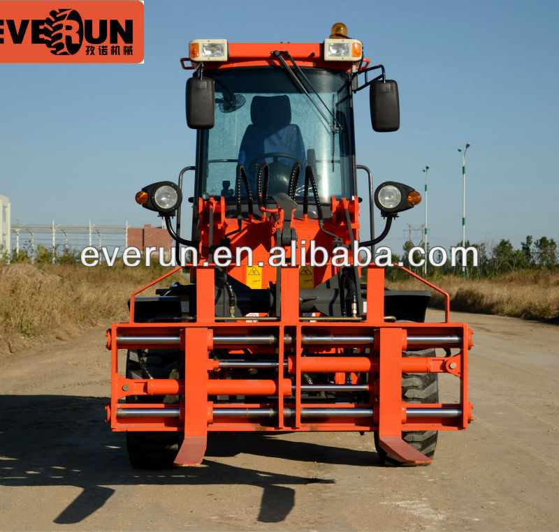 Hot Selling Qingdao Everun Brand 1.0T Mini Wheel Loader with Electric Joystick