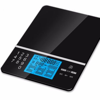 Digital food nutrition kitchen scale