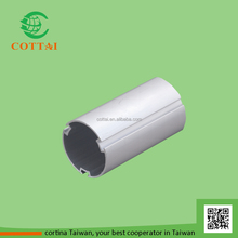 COTTAI blind component aluminium roller shade tube for roller blind