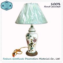 Hand Crafted Indoor Decorative Hotel Cheap Ceramic Table Lamp
