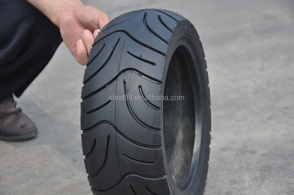 High Strength CE Certified Motorcycle Tyre Scooter Street Tubeless Tyre 130/60-10