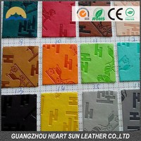 PU thermo leather for making diary cover and jean label
