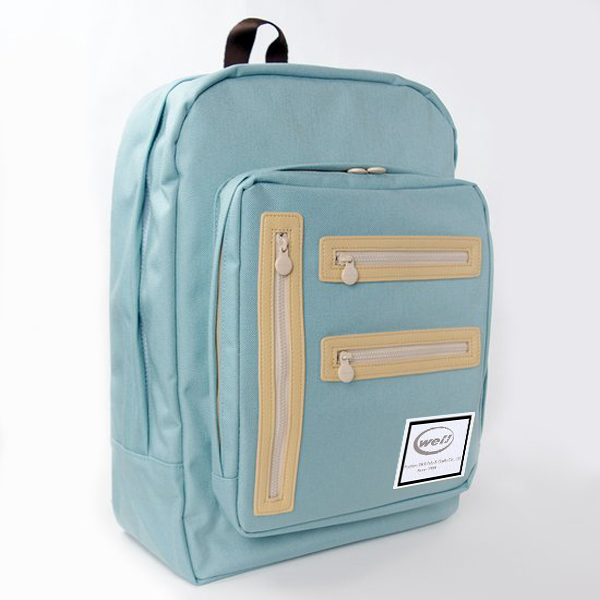 Fashional polyester nylon silk backpack for gift
