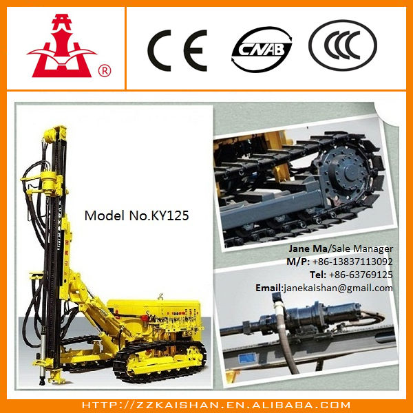 Portable KY125 rock drill breaker