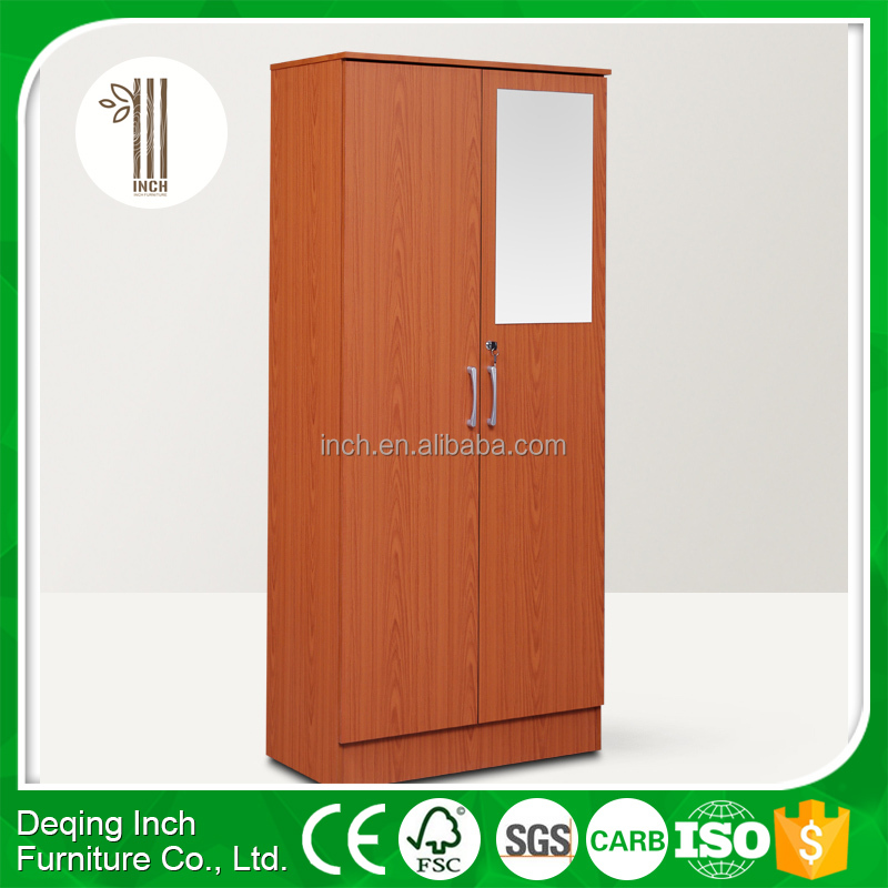 2 door wardrobe with mirror and drawers,two door wardrobe with drawers,storage wardrobe with shelves