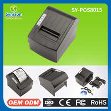 Automatic And Manual Pos Cheap Receipt Printer Thermal Receipt Printer With Linux Driver 80mm Thermal Receipt Printer