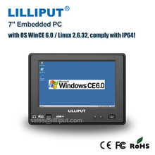 "Lilliput 7"" IP64 all in one embedded computer with 3G, GPS, WiFi & Bluetooth"