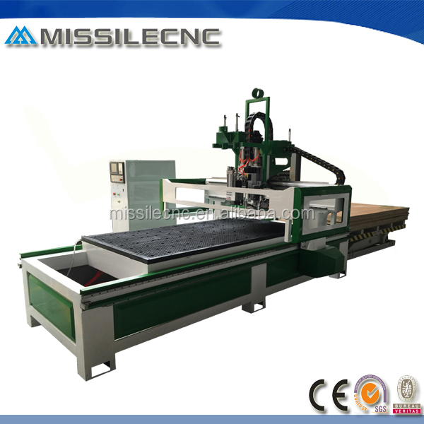 Missilecnc produce high quality ATC system nested based cnc router