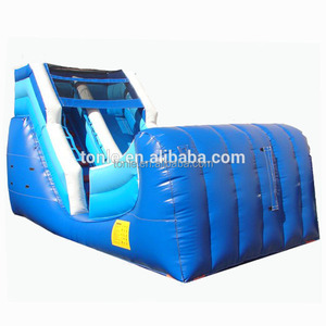 12' Ocean Theme Inflatable Wet & Dry Slide - Commercial Inflatable Water Slide